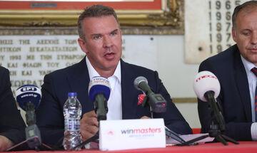 Θωμάς Τζόκας-Διευθύνων Σύμβουλος Winmasters: «Είμαστε εδώ για να υποστηρίξουμε τον Ολυμπιακό» (vid)