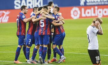 La Liga: Ήττα πισωγύρισμα για τη Βαλένθια από την Έιμπαρ (highlights, βαθμολογία)