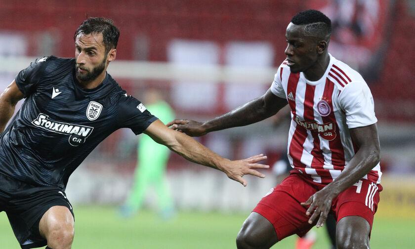 Ολυμπιακός - ΠΑΟΚ: Το γκολ του Καμαρά για το 2-0 (vid)