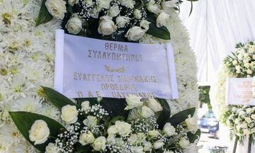 Το ιδιαίτερο αντίο του Φαίδωνα Κωνσταντουδάκη στον Νίκο Αλέφαντο