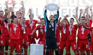 Η στέψη της πρωταθλήτριας Μπάγερν στην Bundesliga (vid)