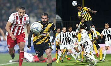 Super League 1: Ντέρμπι σε Θεσσαλονίκη και ΟΑΚΑ