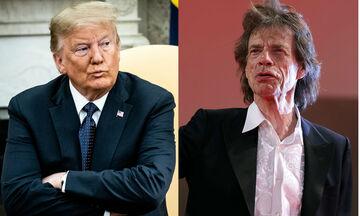 Rolling Stones: Απαγορεύουν στον Τραμπ να χρησιμοποιεί τη μουσική τους