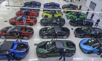 Αυτές είναι οι τελευταίες 18 BMW i8