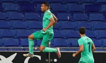 La Liga: H Ρεάλ 1-0 την Εσπανιόλ σάλταρε από τη Βαρκελώνη στην κορυφή (highlights, βαθμολογία)