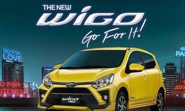 Νέο σπορτίφ μίνι Toyota Wigo TRD S