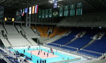 Volley League: Έτσι προετοιμάστηκε το κλειστό του ΟΑΚΑ για το φάιναλ φορ (vid)