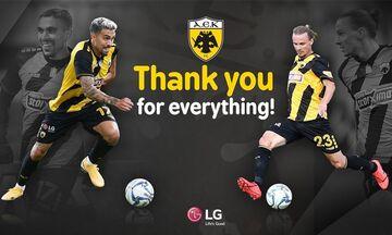 AEK: Αποχαιρέτησε και επίσημα Χουλτ και Κλωναρίδη (pic)