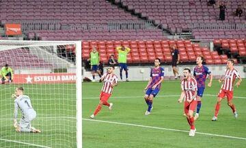 La Liga: «Χαρίζει» τον τίτλο η Μπαρτσελόνα, 2-2 με την Ατλέτικο Μαδρίτης (vid)