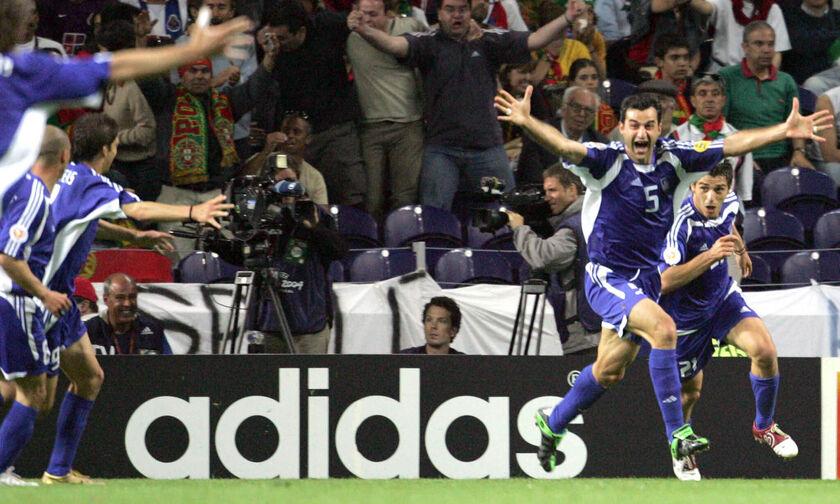 1η Ιουλίου 2004: Γκολ και φύγαμε για τελικό! Περνάει η μπάλα γκοοοοοοοοολ! (vids)