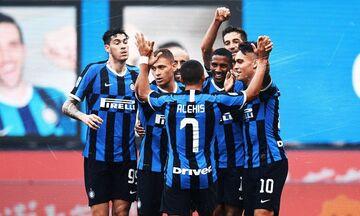 Serie A: «Εξάσφαιρη» η Ίντερ κόντρα στη Μπρέσια (βαθμολογία)