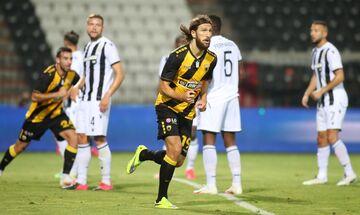 ΠΑΟΚ - ΑΕΚ 0-2: Τα γκολ των Τσιγκρίνσκι και Λιβάγια (vid)