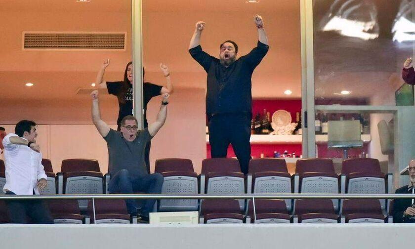Μαρινάκης: «Υπερήφανος για τον Ολυμπιακό μας. Συνεχίζουμε»