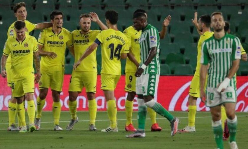 La Liga: Ζωντανό το όνειρο του Champions League για τη Βιγιαρεάλ, 0-2 τη Μπέτις (vid)