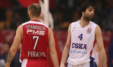 Euroleague: Με Σπανούλη και Τεόντοσιτς οι καλύτεροι σουτέρ τριπόντων της δεκαετίας
