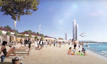 Ελληνικό: Έτσι θα είναι σε 5 χρόνια: Νέα παραλία, μαρίνα, πολυτελές ξενοδοχείο, εμπορικό κέντρο...