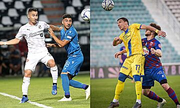 Super League 1: Στην Κρήτη ο ΠΑΟΚ, δράση στην Τρίπολη