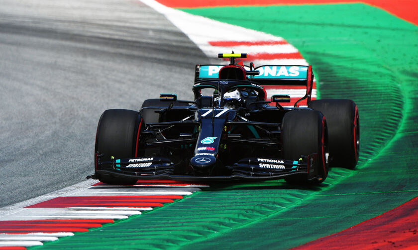 Grand Prix Αυστρίας: Στον Μπότας η πρώτη φετινή pole position