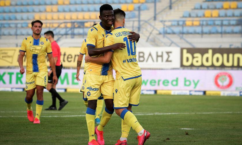 Αστέρας Τρίπολης - Βόλος 4-0: Συνεχίζουν αήττητοι οι Αρκάδες (highlights)