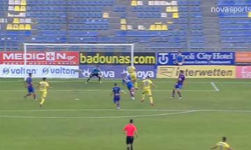 Αστέρας Τρίπολης - Βόλος: Το γκολ του Λουΐς Φερνάντεθ για το 1-0 (vid)