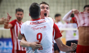 Ολυμπιακός - Φοίνικας Σύρου 3-0: Tα highlights του τρίτου ημιτελικού (vid)