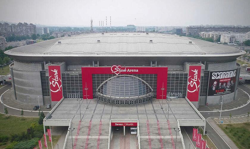 H Stark Arena μετατρέπεται σε… νοσοκομείο ελέω κορονοϊού
