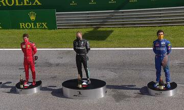 Grand Prix Αυστρίας: Το διαφορετικό podium των νικητών (vid)