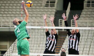 ΠΑΟΚ - Παναθηναϊκός 0-3: Στον τελικό της Volley League ύστερα από 10 χρόνια οι «πράσινοι»!