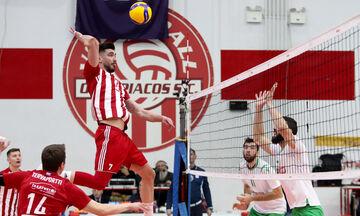 Volley League ανδρών: Την Πέμπτη (9/7) ξεκινάει η σειρά των τελικών Ολυμπιακός - Παναθηναϊκός!