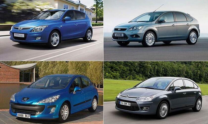Φθηνά μεταχειρισμένα μικρομεσαία αυτοκίνητα 10ετίας
