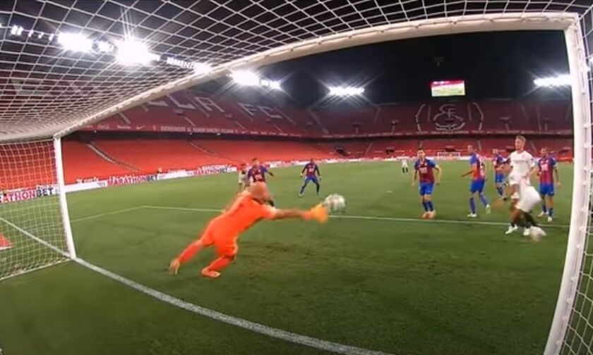 La Liga: Σεβίλη έτοιμη για Champions League, 1-0 την Εϊμπάρ, στο +6 από τη Βιγιαρεάλ (vid)