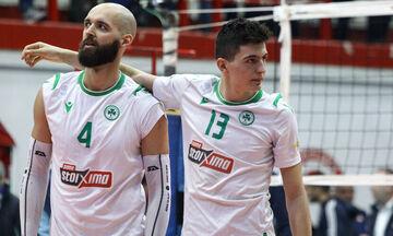 Τσάτσιτς για τελικούς VolleyLeague: «Ο Ολυμπιακός είναι φαβορί στα χαρτιά»
