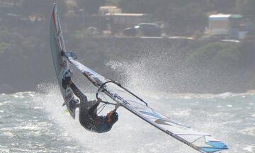 Πρόστιμο σε πρωταθλήτρια windsurfing λόγω μποφόρ! (pic)