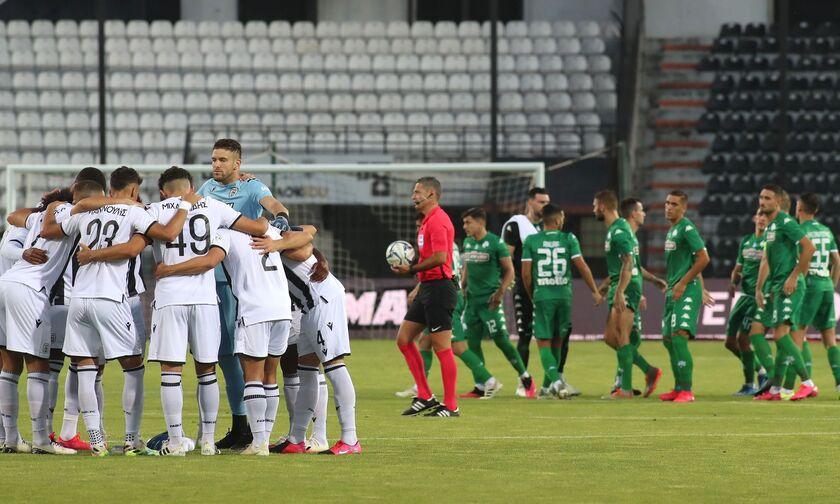 ΠΑΟΚ - Παναθηναϊκός 0-0: «Ξεθωριάζει» το σεντόνι