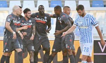 Serie A: «Διπλό» ...ανάσα για την Ουντινέζε (vid)!