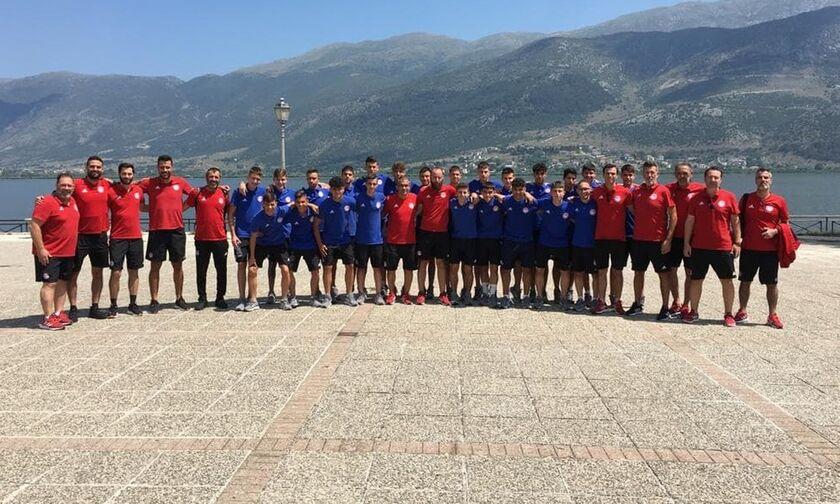 Ολυμπιακός: Έτοιμη για τον τελικό του πρωταθλήματος η Κ15