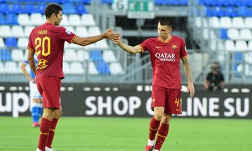 Serie A: «Καθάρισε» τη Μπρέσια η Ρόμα και ανέβηκε στην 5η θέση