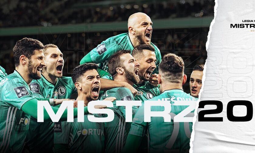 Λέγκια Βαρσοβίας: Πρωταθλήτρια Πολωνίας για τη σεζόν 2019-2020!