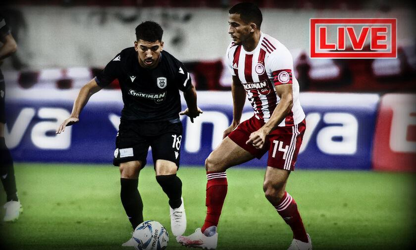LIVE: Ολυμπιακός - ΠΑΟΚ (21:45)