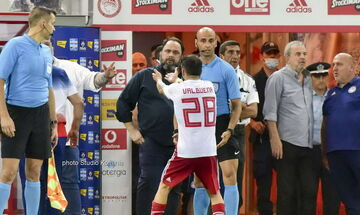 Ολυμπιακός - ΠΑΟΚ 0-1: Έτσι το είδε ο Μαρινάκης - Η αντίδραση του προς Βαλμπουενά, Μανούχο (pics)