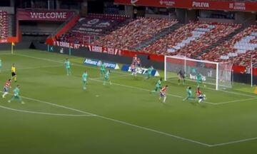 La Liga: Δείτε τον Ράμος να κρατά τη Ρεάλ Μαδρίτης σε απόσταση δυο βαθμών από τον τίτλο (vid)