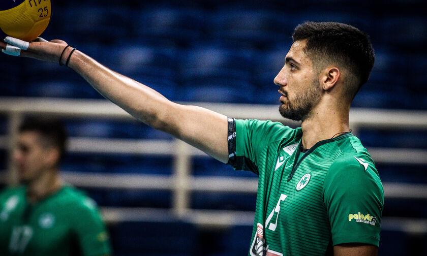 Μεταγραφικά Volley League: Φεύγει ο Ράπτης από τον Παναθηναϊκό - ΠΑΟΚ με τρεις του Ολυμπιακού
