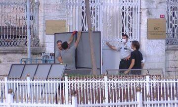 Αγία Σοφία: Ξεκίνησαν οι εργασίες μετατροπής της σε τζαμί (pics & vid)