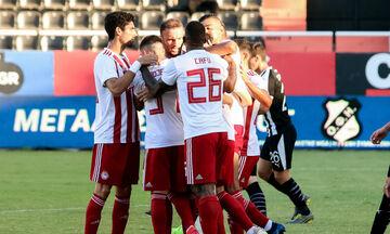 ΟΦΗ - Ολυμπιακός: Τα γκολ των Φορτούνη, Ρατζέλοβιτς για το 0-2  στο ημίχρονο (vid)