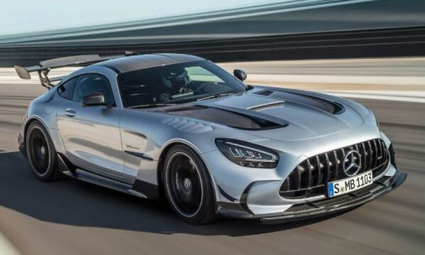 Η απόλυτη Mercedes-AMG GT Black Series (vid)