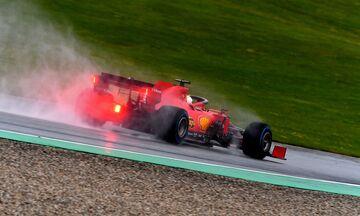 Grand Prix Ουγγαρίας: Ο Φέτελ πρώτος στο FP2, αρκετή βροχή στην πίστα