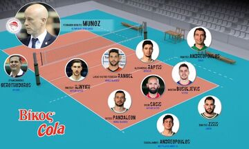 Απίστευτη ψήφος του Μουνιόθ για τον καλύτερο ακραίο της Volley League