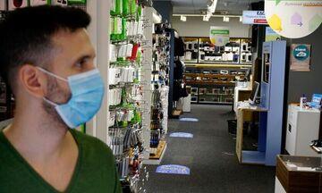 Σούπερ μάρκετ: Υποχρεωτική η μάσκα σε εργαζόμενους και καταναλωτές (pic)
