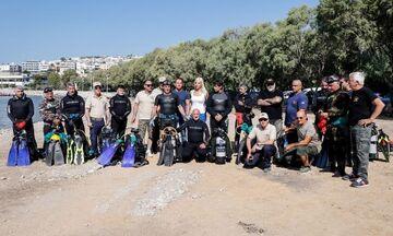Εθελοντικός καθαρισμός του βυθού στο ΣΕΦ από τον Σύνδεσμο Ελλήνων Βατραχανθρώπων (pics-vid)