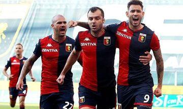Serie A: Η Τζένοα κέρδισε το ντέρμπι της παραμονής από τη Λέτσε- Υποβιβάζεται η Σπαλ